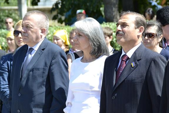 Вице-президент Болгарии и нардеп приняли участие в митинге в Болграде (ФОТО)