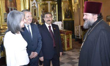 Нардеп и вице-президент Болгарии посетили Болградский Спасо-Преображенский собор (ФОТО)