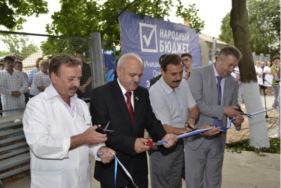 Антон Киссе посетил открытие отремонтированного инфекционного отделения Болградской больницы (ФОТО)