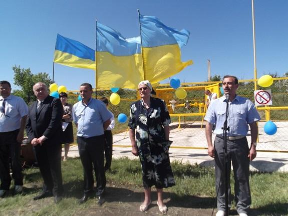 В Бородино при участии нардепа провели газ (ФОТО)