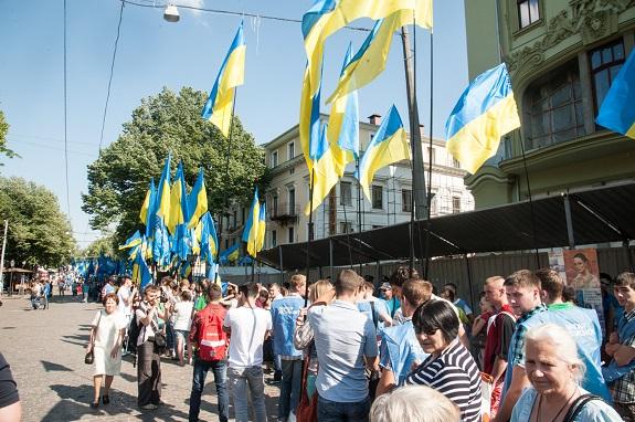 В Одессе состоялся многотысячный антифашистский митинг