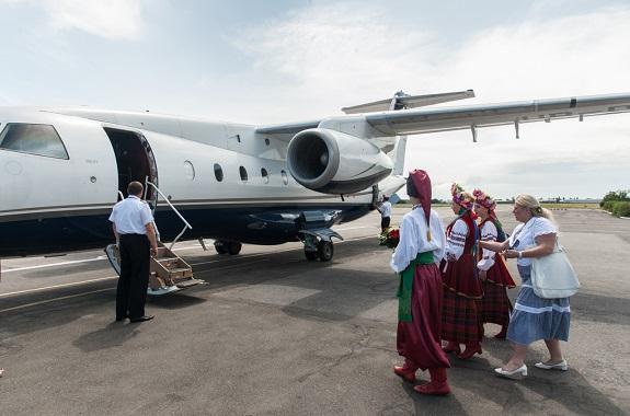 В Одессу прилетела вице-президент Болгарии