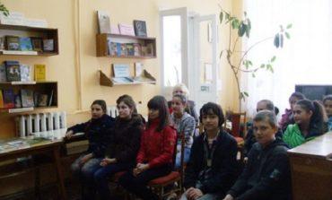 В Болграде школьникам подарили литературный праздник