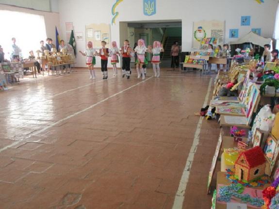 В Измаильском районе состоялась выставка декоративно-прикладного искусства