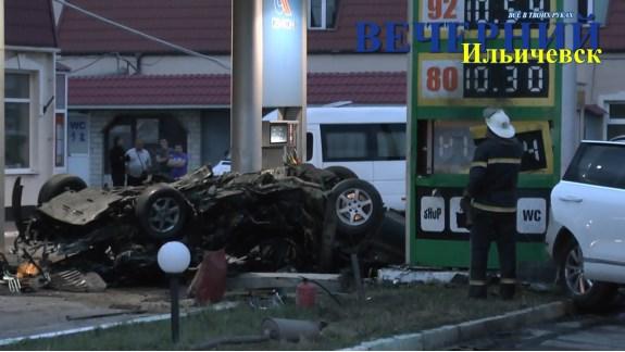 В Ильичёвске произошла крупная авария, есть жертвы