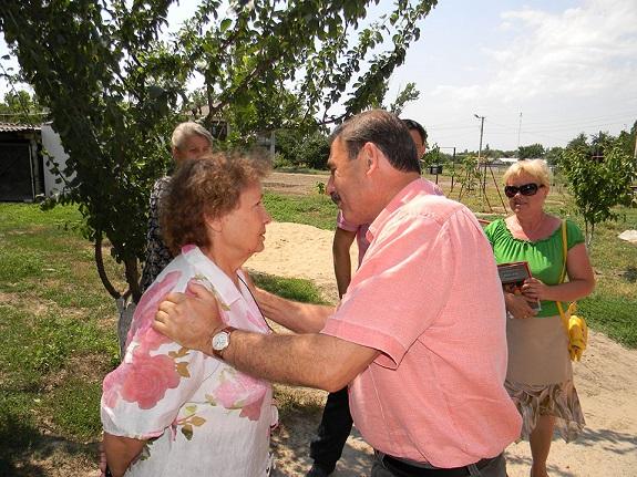 Антон Киссе намерен помочь жителям аварийного дома в Болграде (ФОТО)