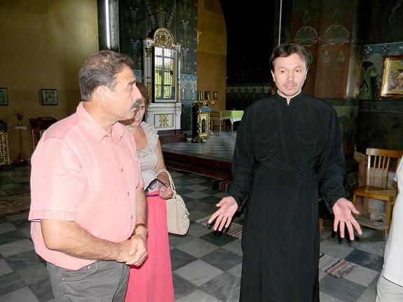 Антон Киссе ознакомился с работами по восстановлению Спасо-Преображенского собора (ФОТО)