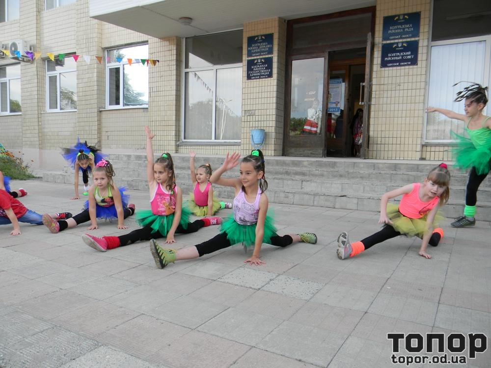 Жители Болграда отмечают День защиты детей