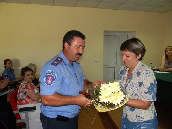 В Болграде наградили участковых инспекторов (ФОТО)