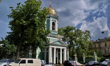 Празднование Троицы в Свято-Троицком соборе