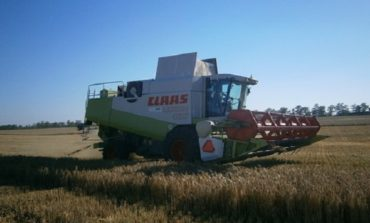 В Саратском районе стартовала кампания по сбору урожая