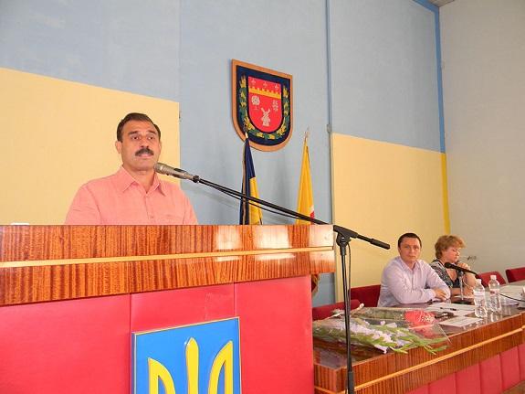 Антон Киссе посетил заседание болградского городского совета (ФОТО)