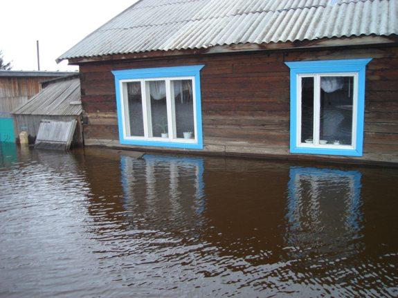 В Измаильском районе ливень затопил дом