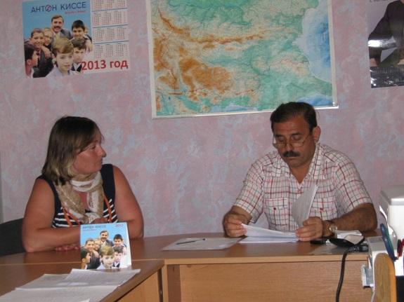 Антон Киссе провёл приём граждан в Арцизе (ФОТО)