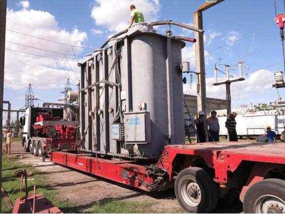 В Одессу привезли трансформатор из Татарбунарского района