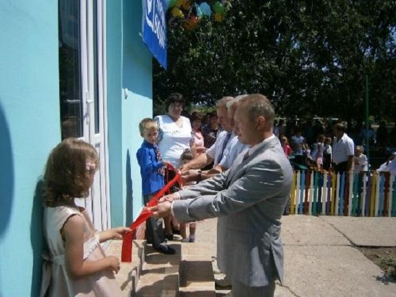 В Саратском районе открыли дополнительную группу в садике на 20 человек
