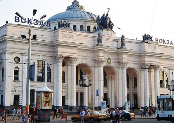 В Одессе «заминировали» железнодорожный вокзал