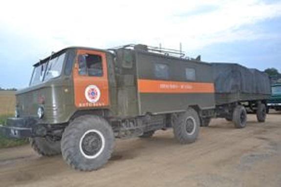 Вблизи Килии развернули пункт оперативного реагирования на случай наводнения