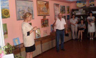 В Тарутино стартовала персональная экспозиция молодой художницы