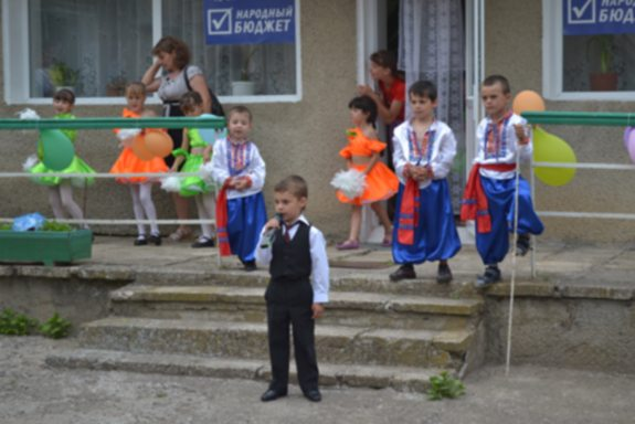 В Болградском районе после ремонта открыли садик