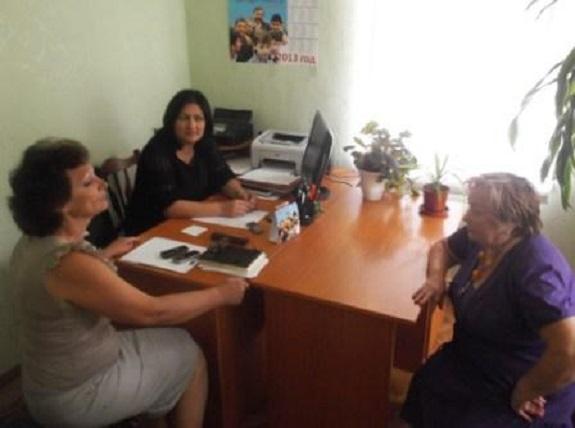 Мария Попова провела первый личный приём избирателей