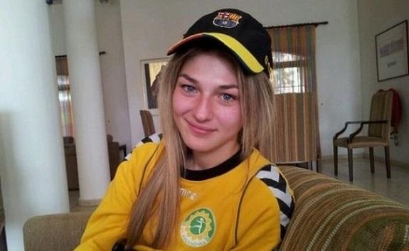 Одесситка сыграла в футбольном матче сборной Украины с командой Бельгии