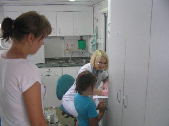 В Килии дошкольники начали проходить медосмотр
