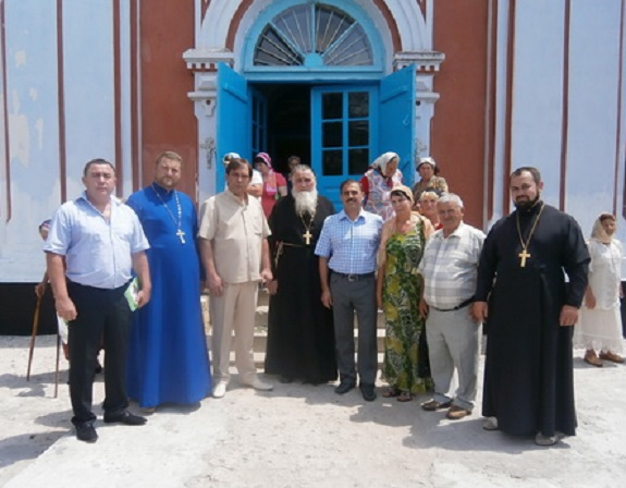 Антон Киссе поздравил жителей Арцизского района с храмовым праздником