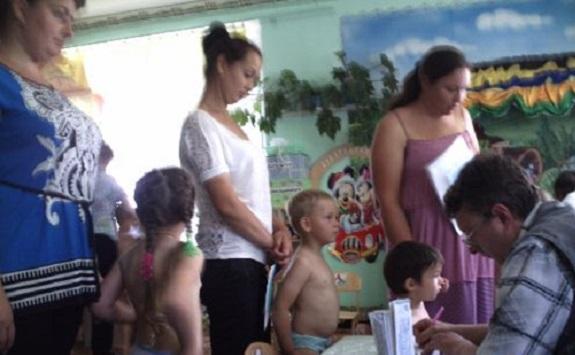В Килийском районе сельские дети прошли медосмотр