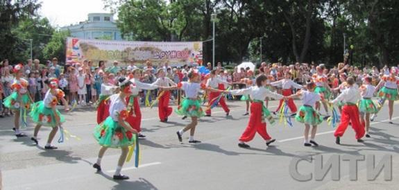В Измаиле фестиваль «Дунай — река дружбы» собрал детей из разных стран