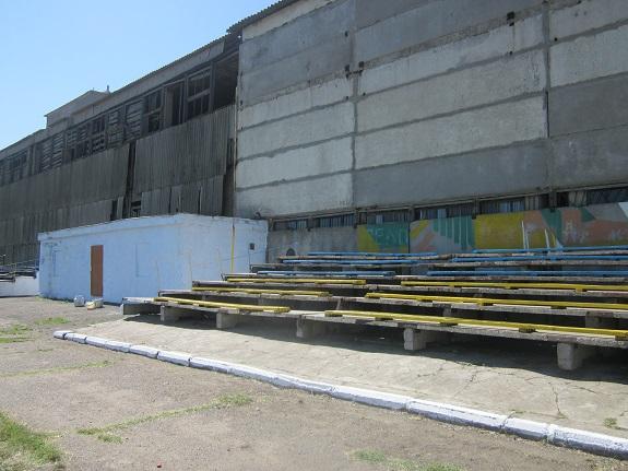 Арцизский стадион привели в порядок госслужащие (ФОТО)