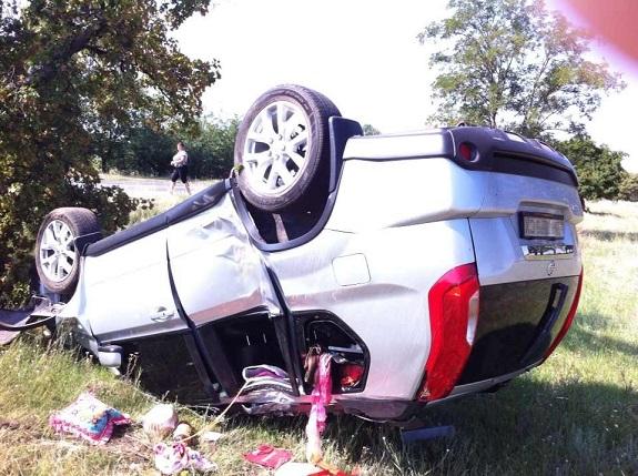 На трассе Одесса-Рени столкнулись «Nissan» и «Mitsubishi», есть пострадавшие