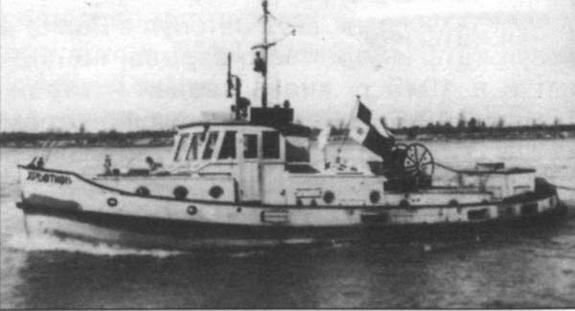 Болгарский флот под советским флагом и советским покровительством