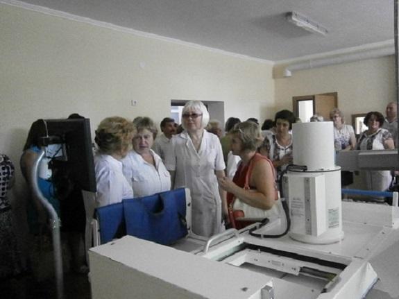Саратская больница обзавелась новым рентген-кабинетом