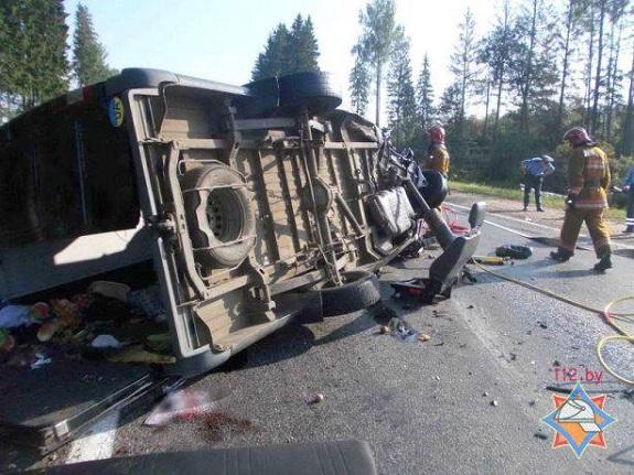 Жители Килийского района разбились в страшной аварии в Белоруссии