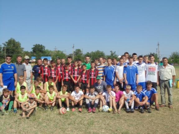 В Килии провели всеукраинский турнир по футболу