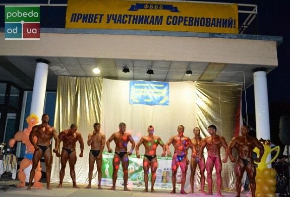Уроженец Болграда победил на региональных соревнованиях по бодибилдингу