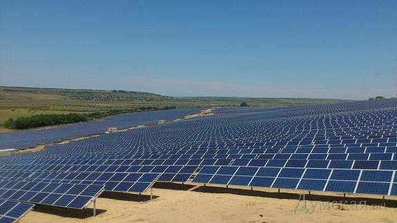 В Болградском районе запускают солнечную электростанцию