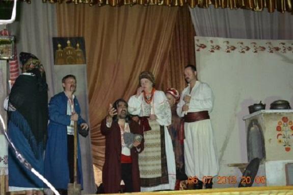 Одесские актёры показали бесплатный спектакль сельским жителям Измаильского района