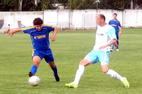 В пятом туре чемпионата Одесской области по футболу тарутинцы уступили килийцам