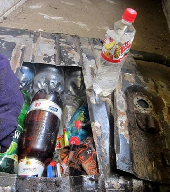 Белгород-днестровские пограничники поймали молдаванина с контрабандным спиртом