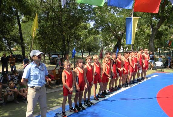 В Болграде прошёл борцовский турнир