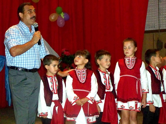 Антон Киссе поздравил яровчан с днем села