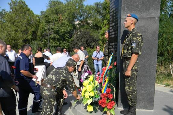 В Болграде вспомнили чехословацкие события (ФОТО)