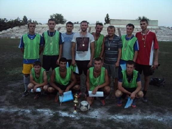 В Белгород-Днестровском определился победитель чемпионата по футболу (ФОТО)