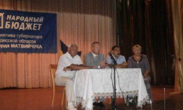 Антон Киссе отчитался о своей деятельности перед жителями Саратского района