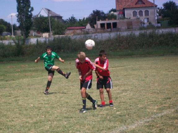 В Рени прошёл международный турнир по футболу среди детей
