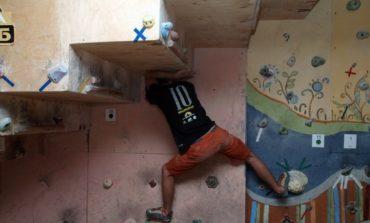 В Одессе прошли международные соревнования по скалолазанию
