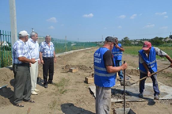 В Болградском районе строят спортивный стадион — чиновник