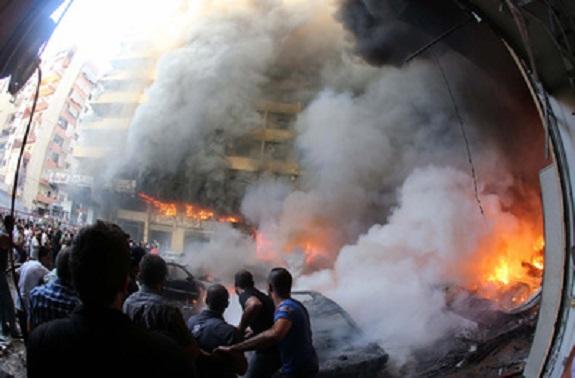 В столице Ливана произошёл крупный теракт, есть жертвы